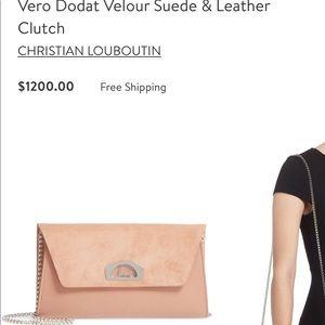 Like new 💯 authentic Christian louboutin bag